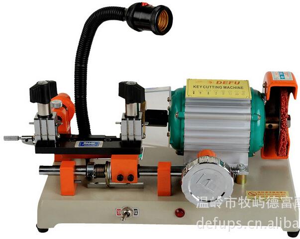 Automatic key cutting machine 2AS car key duplicate machine locksmith key copy(China (Mainland))