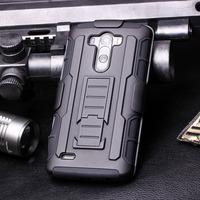 Future Armor Impact Skin Holster Kickstand Case Cover For LG G3 Mini Combo 10pcs case+10pC Protector+Freeshipping