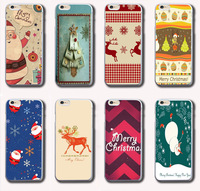 hillsionly 2014 1PC Fashion Merry Christmas Theme Back Case Cover Skin For iPhone 6 6G 4.7inch shopping