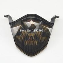 1Pcs Integrated LED Rear Brake Tail Tight & Indicator Turn Signals Fits For Kawasaki Ninja ZX10R ZX 6R Z1000 Z750 Smoked LensNew(China (Mainland))