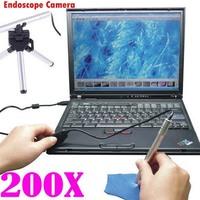 2014 new 200X USB Digital 5MP Microscope Endoscope Camera 7/Vista/XP/2000/Mac OS  Mini Portable LED Endoscope Otoscope Camera