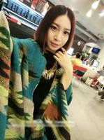 2014 New Hot Fashion Big Soft Scarves Winter Warm Shawl  Woman Peafowl Colors Tassel Scarf