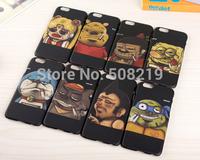 Fashion Amusing Cartoon Jingle cats Teenage Mutant Ninja Turtles Winnie the Pooh SpongeBob Back Hard Case For iPhone 6 6plus New
