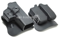 IMI defense pistol and magazine holster for Glock 17 Airsoft Free Shipping
