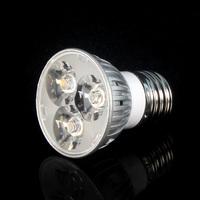Balck Friday 1 X High Power Led lamp 3W E27 AC85-265V Led Spot light Spotlight Led Bulb Cold/Warm White free shipping