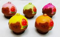 20pcs/lots 5cm muti colors rilakkuma cupcake squishyy