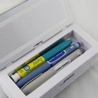 Joyikey 2.5 L insulin cooler, large capacity battery 4000mAh+12000mAh