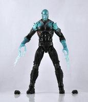 "MARVEL LEGENDS Spiderman ULTIMATE ELECTRO ACTION LOOSE FIGURE 6"" ZX316"