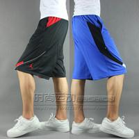 Large sports basketball shorts male summer basketball knee-length pants men single tier hiphop shorts