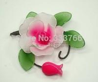 Free Shipping DIY Nylon stocking flowers screen-flowers Headdress Corsage