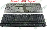 AZERTY  Hot sale laptop computer keyboard for HP Compaq Presario CQ61 G61 UK-FR France Layout