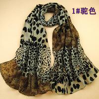 160*70cm women fashion Leopard printed chiffon scarf Female casual Winter Spring warm bandana spain desigual scarf shawl