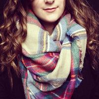 2014 New Hot Fashion Big Soft Scarves Winter Shawl Warm Casual woman Plaid Scarf