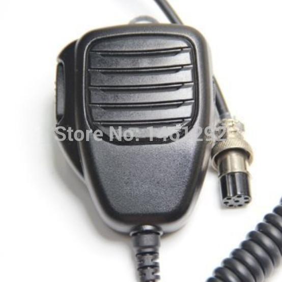 8-pin Plug Remote Speaker Mic Microphone PTT For ICOM HF Transceiver Radio IC-9100 IC-7800 IC-7700 IC-7600 IC-7410 IC-7200(China (Mainland))