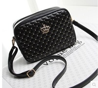 Hot sale Small bag ladies handbag plaid handbags small Flap bags diagonal rivet Messenger shoulder bag