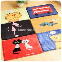 Cartoon Carpet Mini Mat Bedroom Living Room Rug Animals Print Thick Suede Slip Rug Warm Door Mat Tapete 59x39cm