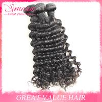 6A Grade Ms Lula Hair Company Brazillian Deep Wave Curly 4pcs Lot Cheap Luvin Brazillian Hair Kinky Curly Weave Hair Extension