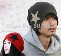 New Fashion Men/Women Beanie Slouchy Hat Warm Winter Ski Hat Unisex Hip Hop Cap Free Shipping