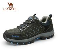 2014 Men's Shoe Genuine Leather CAMEL Shoes Men  Outdoor Hiking Shoes CAMEL ACTIVE Breathable Leather Men's Flats