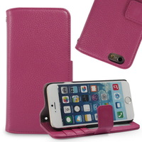 """2014 Hot!! Genuine Leather Wallet Flip Case Cover for iPhone 6 Plus 5.5"""" with Button Card Holder Wholesale"""