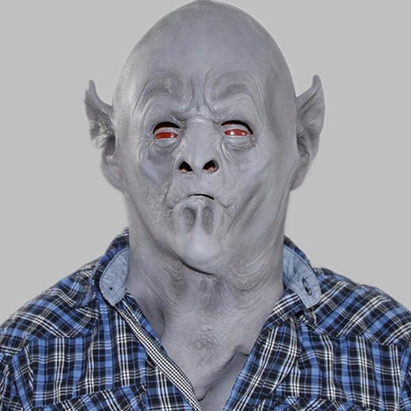 Scary Halloween Mask Alien Overlord Neutron Alien Resurrection(China (Mainland))