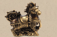 Home Decor Arts and Crafts Chinese Zodiac Animal HorseCreative Gift Embossed War Horse Lucky Horse