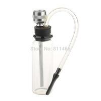 Water Smoking Pipe Tobacco Cigarette Holder Liquid Filter Reduce TarWater Smoking Pipe-Transparent-C100537