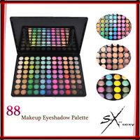 Free shipping Professional Makeup Palette Shadows 88 Warm Color Eye Shadow Makeup Palette Eyeshadow Palette Kit Set