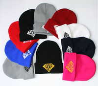 New HOT Mens Womens Skull Beanie Hat Warm Winter Knit Hip-hop Casual Caps Hats Style Free Shipping