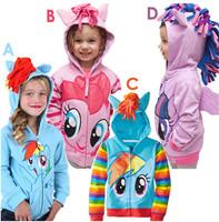 1PCS My littl pony Kids Girls and boys jacket Children's Coat Cute Girls Coat, hoodies, girls Cotton Jacket children clothing