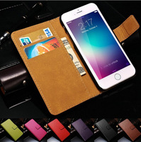 """Genuine Leather Wallet With Stand Case For iPhone 6 6G 4.7"""" Phone Bag for iPhone 6 Plus 5.5"""" 2 Styles Card Holder Brand New 2014"""