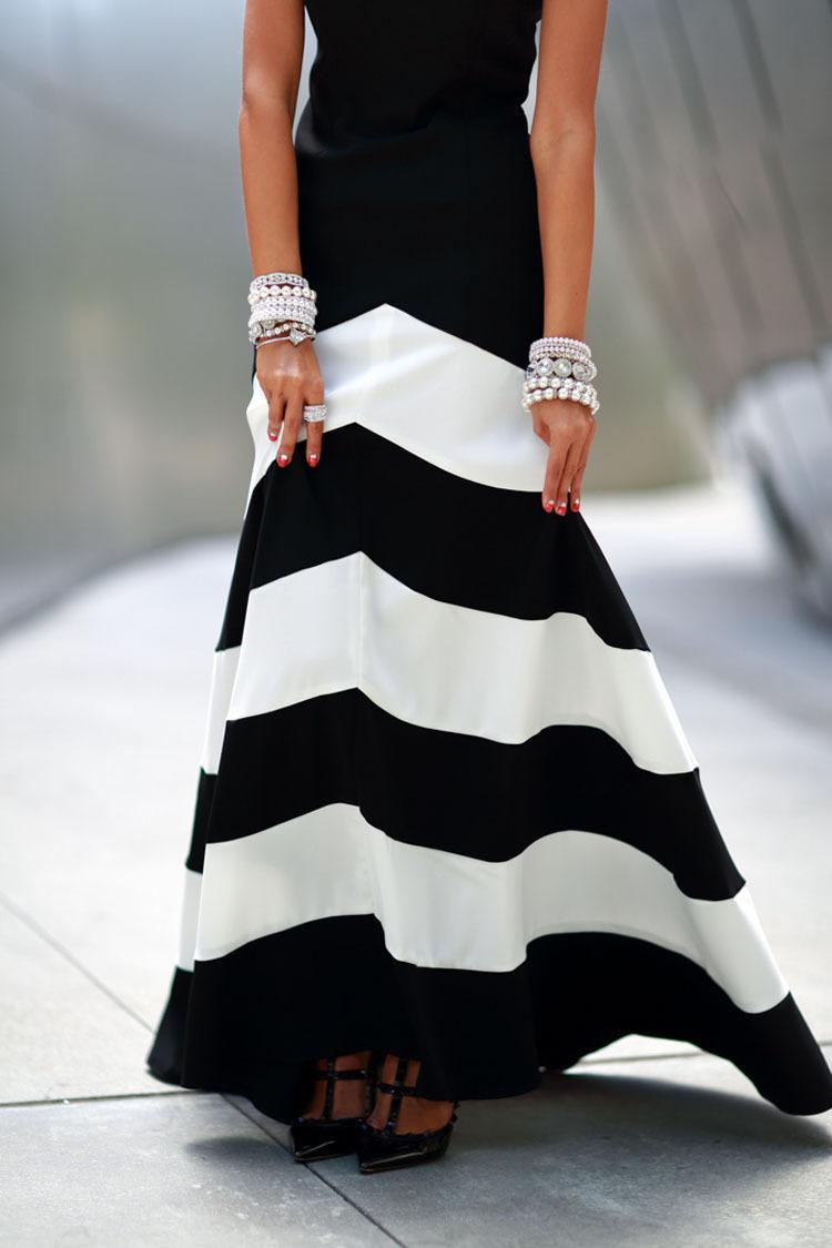 Модные Черно Белые Платья