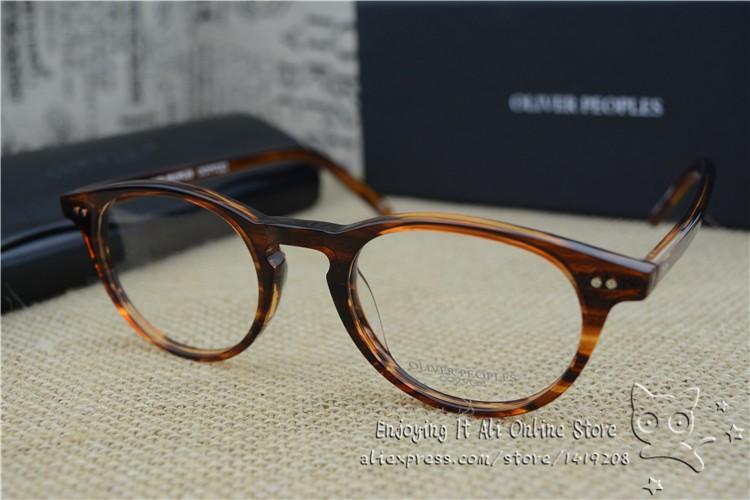 Vintage optical glasses frame oliver peoples eyeglasses ...