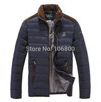 Free shipping 2014 new men's jacket collar jacket men Male down jacket coat