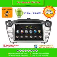 Pure Android 4.2.2 OS 7''Car DVD Player for Hyundai IX35, AutoRadio,GPS,Navi,Multimedia,Radio,Ipod,Free Cam,Free shipping