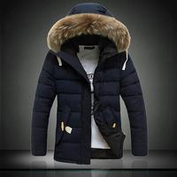 P135 black-matrix 2014 male medium-long down wadded jacket cotton-padded jacket winter clothes male 7086