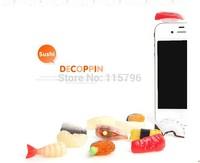 Sushi Headphone Dust Plug For iphone Headphone Jack Dust Plug Cell Phone Anti 5 Styles