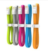 VOJO iTrim2 silicone noodle charge cable line for Iphone 5 5C 5S 6 ipad air lightning USB charge line
