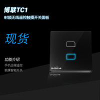 Free shipping Remote control switch wall switch by 3G/4G mobile control two channel switch IR remote control switch