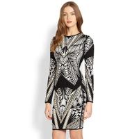 2014 High Quality vestido de festa HL kim kardashian dress Long Sleeve Bandage dresses evening celebrity short prom dresses