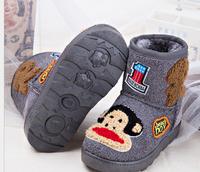 The new 2014 children cartoon high  boots female children's shoes for children Non-slip upset