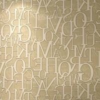 Modern Brown letters Mural Wallpaper Roll zk04 3d wall mural for living room  para quarto do casal
