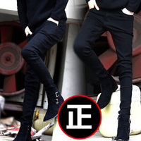 Hot Sales! New Arrival Free Shipping Men's Jeans Super Fashion Personality Korean British Style High-grade Jeans 1pc/lot