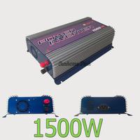 MPPT Solar Grid Tie Inverter 1500W, 45-90V DC 120/230VAC, 50Hz/60Hz ,High efficiency, High Quality,low cost