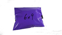 Free Shipping 6x9 Premium Self Sealing Plastic Poly mailer Shipping Envelope Mailing Bags Purple Color Plastic Postal Mailer