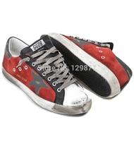 2014 free shipping 2014 New GOLDEN GOOSE GGDB men women low sneakers Casual shoes G25U590 T3