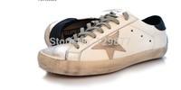 free shipping New Golden Goose  White New York Sneaker Worn Men Women Low Cut Shoes Sneakers g21u590h5
