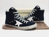 2014 free shipping Golden goose high men's women's shoes comfortable casual shoes mac00237