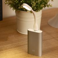 New Arrival Original Xiaomi USB Light Universal Bendable Portable USB LED Mini Lamp White Free Shipping