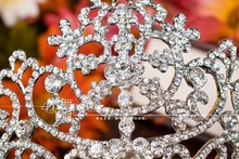 luxury marriage wedding accessories crown wedding jewelry for hair Free shipping